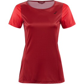 SQUARE Sport Damen kurzarm red